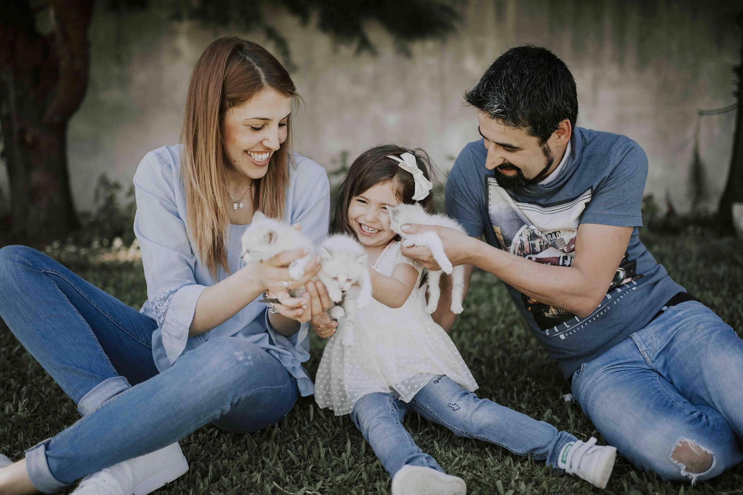 Sessão de Familia: Alicia